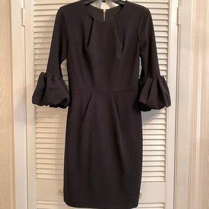 Betsy & Adam black dress size 4 EUC